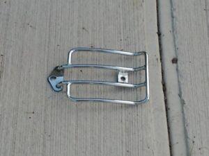 Chrome luggage motocycle rack