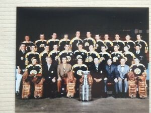 1970 Boston Bruins 10 x 8 Team Picture