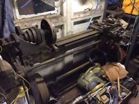 Old Industrial Lathe