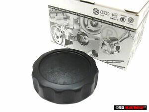 Polo MK2 Genuine VW Seat Backrest Adjuster Roller Knob Black Nos