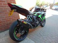 2017 (17) KAWASAKI ZX6-R 636 - LOADS OF EXTRAS INC AKRO