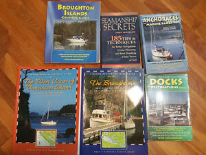 West Coast Cruising Books - various and current