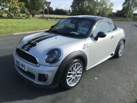 61 MINI COOPER S COUPE DIESEL JCW 56000 MILES HUGE SPEC RARE CAR