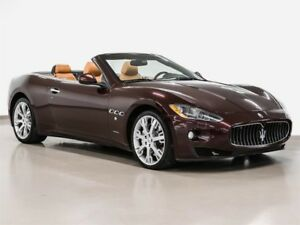 2010 Maserati GranTurismo Convertible winter pricing
