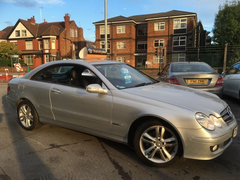 mercedes clk 220 cdi avantgarde auto aluminium silver metallic 2009 in didsbury manchester. Black Bedroom Furniture Sets. Home Design Ideas