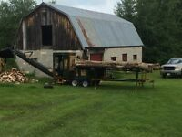 Firewood processor for hire