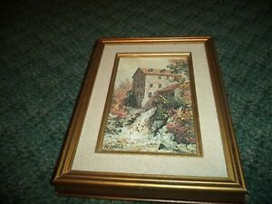 "James Keirstead ""Clifton Mill"" painting"