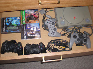 retro PLAYSTATION drawerfull $44  PLEASE CALL EMAILS ALWAYS GET