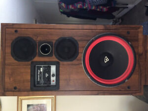 3 sets of Cerwin-Vaga's, center speaker, amp and sub