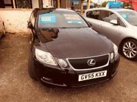 Lexus GS 300 3.0 ( sr ) Auto Sat Nav Metallic Black Bluetooth Prep