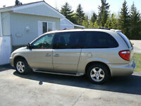 2005 Dodge Caravan with a scooter lift