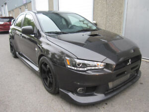2012 Mitsubishi Lancier GSR *Manuel,Recaro,+10000$ d'options*
