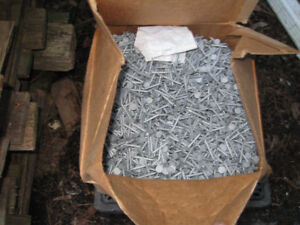 PRICE DROP. 50lbs+  Hot dip roofing nails