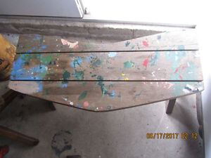 Older smaller sized WOODEN BENCH