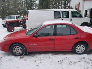 2006 Pontiac Sunfire and second parts car.