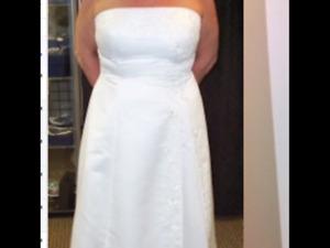Size 18 Jora collection wedding dress