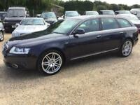 2010 10 AUDI A6 2.7 AVANT TDI S LINE SPECIAL EDITION 5D AUTO DIESEL