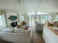 Used lodge in Lancashire nr Yorkshire Dales - DECKING INCLUDED - AMAZING VIEWS -