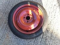 Spare wheel for Vauxhall agila