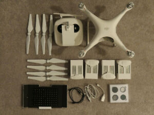 DJI Phantom 4 Drone & Accessories - Excellent Condition