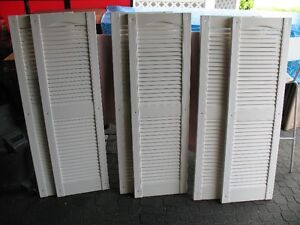 Reduced Window shutters/louvers
