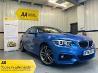 2018 BMW 2 Series 218i M SPORT COUPE Petrol Manual