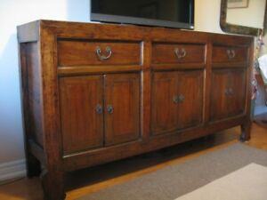 Genuine Chinese Buffet Cabinet circa 1880 from GreenTea Design