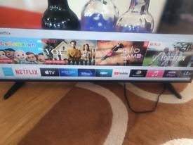 "Samsung 43"" 4k ultra HD smart TV"