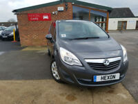 2010 Vauxhall/Opel Meriva 1.4 16v MANUAL PETROL NEW SERVICE 3 MONTHS WARRANTY