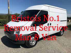 Reliable Man & Van Service - Bristols No. 1 Man & Van Service