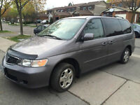 2000 HONDA ODYSSEY EX IN CANYON GREY FOR $2,000
