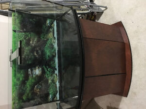 Aquarium with Stand and Accessories