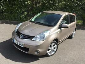 NISSAN NOTE N TEC 1.5 DCI DIESEL MANUAL BEIGE 5 DOOR MPV 2010