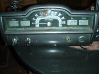 1951 plymouth  instrument cluster and radio,emblem