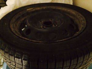 4 x-ice Michelin Winter tires with Rims