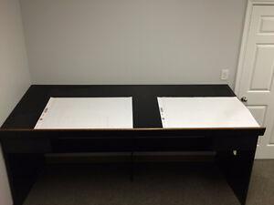 2 Drafting Tables with Drawers for Sale