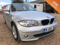 2005 05 BMW 1 SERIES 2.0 120D SE 5D 161 BHP DIESEL