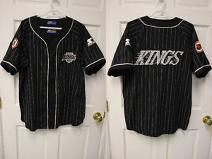Los Angeles Kings Baseball style Jersey
