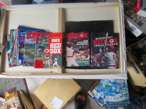 RED SOX MAGAZINES/YEARBOOKS