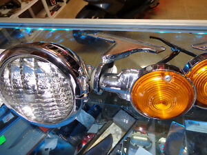 Harley Aux, Headlights     recycledgear.ca Kawartha Lakes Peterborough Area image 2
