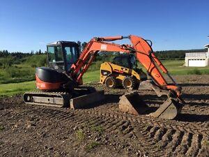 Hitachi ZX50 U-2 Excavator, 1390 Hours
