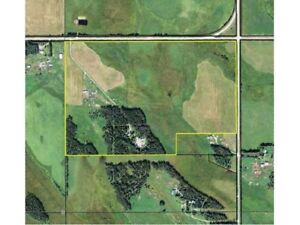 URESERVED - 98.64 acres, shop/shelter/sml home Rocky House, ab