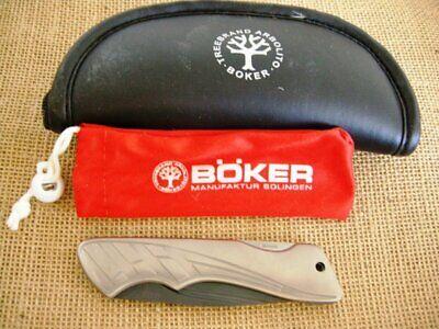 Boker Ceramic Made In Germany Folding Knife, Vintage