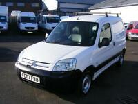 2007 CITROEN BERLINGO 1.6 HDi 600TD X Panel Van 3dr EU4