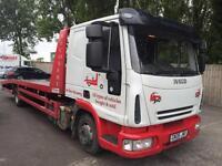 2008 08 Iveco/ Seddon Eurocargo 75E16 7.5 tonn RECOVERY TRUCK 3920CC P/X