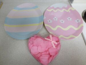 Valentine's Day Scented Pink Rose Petals or Easter Trays