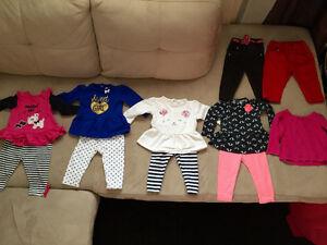 Vêtements pour fille 9 mois