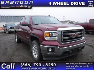 2015 GMC Sierra 1500 SLE- Crew Cab, LED Cargo Box Lighting, EZ L