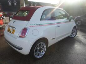 Fiat 500c 1.2 Lounge Convertible (Start Stop) PETROL MANUAL 2010/10