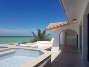 AFFORDABLE OCEANFRONT PROPERTY IN YUCATAN RIVIERA